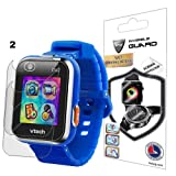 For VTech Kidizoom Smartwatch DX2 Watch Screen Protector (2 Units) Invisible Ultra HD Clear Film Anti Scratch Skin Guard - Smooth / Self-Healing / Bubble -Free By IPG (Color: Clear)