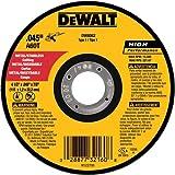 Rueda de corte de acero, 7/8-pulgadas  4-1/2 pulgadas por Metal 0,045 pulgadas Arbor,  DEWALT DW8062B5