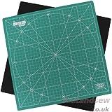 Prym Tapis de découpe rotatif Vert 30 x 30 cm