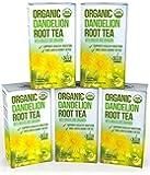 Kiss Me Organics - Raw Organic Dandelion Root Tea - 100 Bags x 2 grams