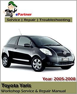 toyota echo service manual download