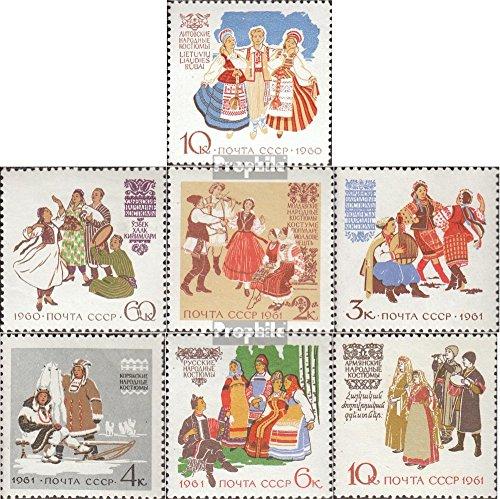 Sowjet-Union 2431-2432, 2442-2446 (kompl.Ausg.) gestempelt 1960 Sondermarken (Briefmarken für Sammler)