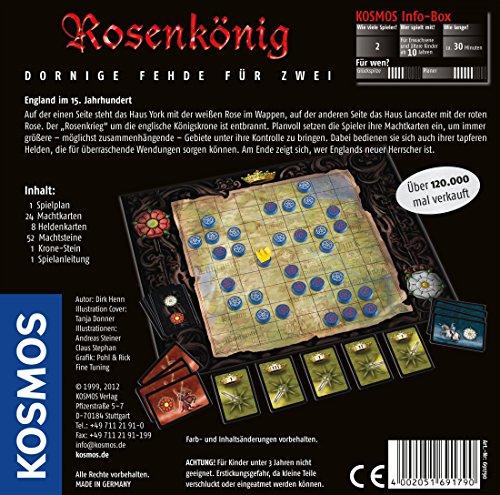 Rosenkönig: Klassiker für 2 Spieler