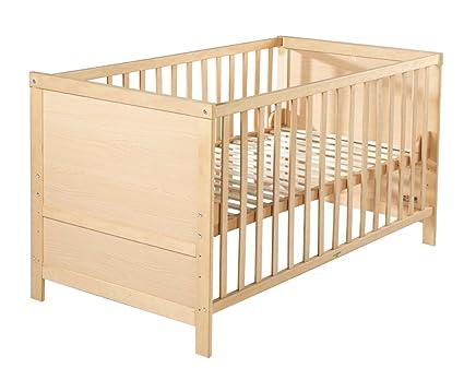 roba 0191 kombi kinderbett in rahmenoptik natur baby. Black Bedroom Furniture Sets. Home Design Ideas