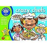 Orchard Toys Crazy Chefs - Juego de cartas ilustradas para jugar a las cocinas