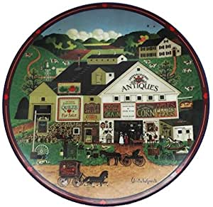 Charles Wysocki PEPPERCRICKET GROVE 1st Collectors Plate