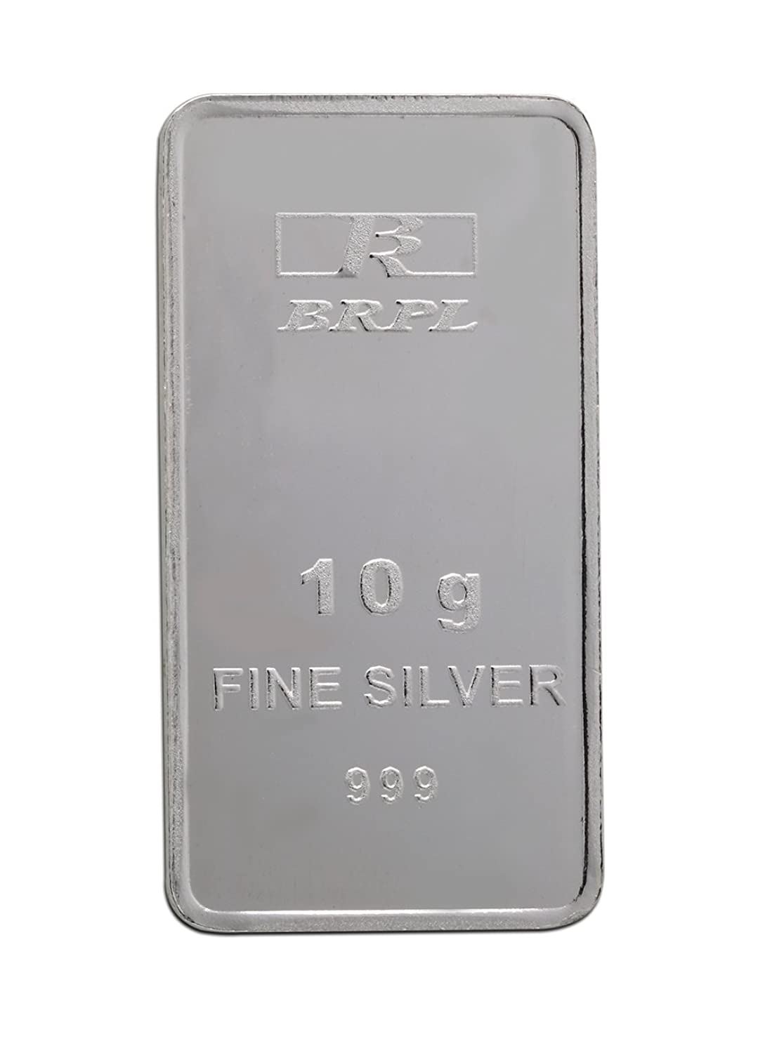 999 Purity Silver Bar 10 Gram