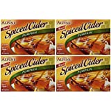Alpine Pumpkin Spiced Apple Cider Instant Drink Mix 10 Pouches (4 Pack, 40 Pouches Total)