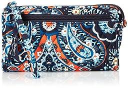 Vera Bradley Women\'s Front Zip Wristlet Marrakesh Clutch