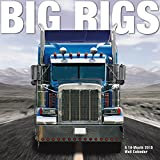 2015 Big Rigs Wall Calendar Trends International