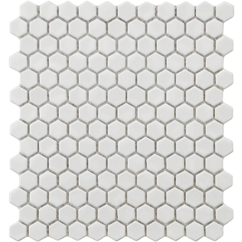 What We Are Thinking For The Floors White Hexagon 39 Penny 39 Tile