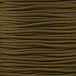 550 Firecord Paracord Parachute Cord Emergency Fire Starter Tactical Gear - Great for Crafting Survival Kit Zipper Pulls Handles Keychains Bracelets Lanyards Outdoor Lashing (Coyote Brown, 50 feet)