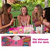 BIRTHDAY-GIFT-IDEA-Fun-Bath-Bombs-Lush-Gift-Set-For-Kids-Includes-3-Extra-Large-Baseball-size-Bath-Bombs-Makes-A-Perfect-Gift-For-Girls-Boys-Kids-Changes-Tub-Colour-Bath-Fizzies