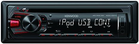 Kenwood Electronics KDC-261UR Autoradio CD/DVD Noir