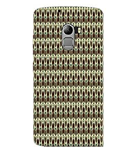 PrintDhaba Pattern D-5910 Back Case Cover for LENOVO K4 NOTE A7010 (Multi-Coloured)