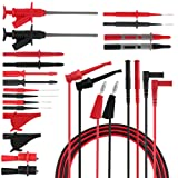 Micsoa Test Leads Kit, Digital Multimeter Leads Set Automotive Test Leads with Alligator Clips Professional Multimeter Accessories
