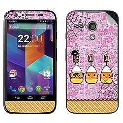 Theskinmantra Boo Motorola Moto G mobile skin