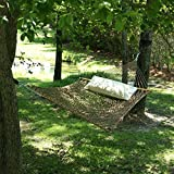 Pawley's Island Original Collection Large DuraCord Rope Hammock, Antique Brown