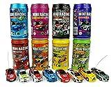 ARRIS 多色ラジコン缶型ケース入りレーシングカー  スポーツカー (1個)