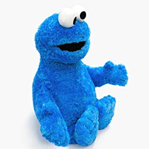 Gund Sesame Street Jumbo Cookie Monster Stuffed Animal, 37 inches (Color: Blue, Tamaño: 37)