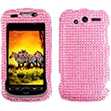 Pink Full Diamond Rhinestones Protector Cover Case for T-Mobile HTC myTouch 4G (Not compatible with myTouch 4G slide)