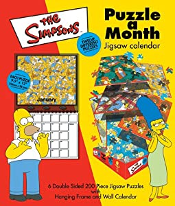 Puzzle a Month - The Simpson's Jigsaw 6 x 200pc