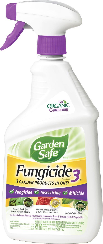 OrganicGarden Safe 24-Ounce Fungicide3 Insecticide/Fungicide/Miticide