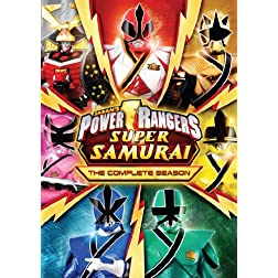 Power Rangers Super Samurai: The Complete Season DVD