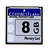 HuaDaWei CompactFlash Memory Card High Speed 133X for Nikon D70 Digital Camera Memory Card 8GB Industrial-grade card