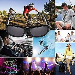 Gadget Advice HD 720 Pixel Video Camera Eyewear Glasses Mini DVR Camera /Sunglasses Camera