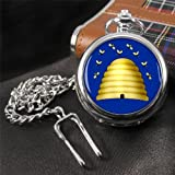 Hive Masonic Pocket Watch