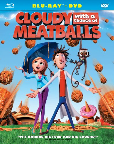 Cover art for  Cloudy with a Chance of Meatballs (Two-Disc Blu-ray/DVD Combo) [Blu-ray]