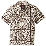 Quiksilver Baby-Boys Infant Island Time Woven Brown, Chocolate, 12 Months