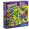 Clementoni - 62294.8 - Jeu de Société - 80 Jeux Classiques  - Tortues Ninja
