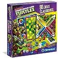 Clementoni - 62294.8 - Jeu de Soci�t� - 80 Jeux Classiques  - Tortues Ninja
