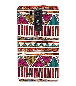 PrintVisa Corporate Print & Pattern Modern Art 3D Hard Polycarbonate Designer Back Case Cover for LG G3 BEAT