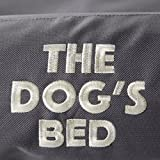 The Dog's Bed, Premium Waterproof Dog Puppy Beds, Many Colors/Sizes, Finest Quality Durable Oxford Material, Washable Cover, Large - Grey, Boarding Kennel Favorite, Happy Hound = Happy Home:)