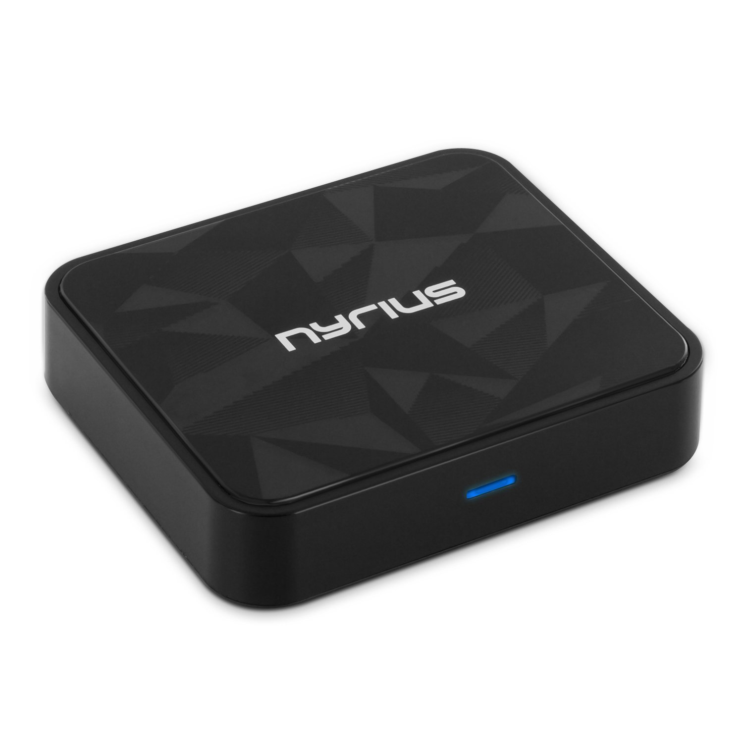 Nyrius Songo HiFi Wireless Bluetooth aptX Music Receiver for Streaming iPhone, iPad, iPod, Samsung, Android, Blackberry, Smartphones, Tablets, Laptops to Stereo Systems with Digital Optical or 3.5mm Audio Connections (BR50) лезвие сегментированное olfa 18х100х0 5мм 8 сегментов 50шт ol lb 50b
