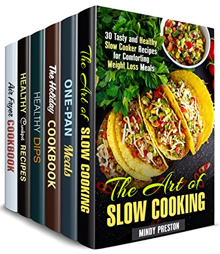 Healthy and Delicious Box Set (6 in 1): Over 150 Slow Cooker, Cast Iron, Air Fryer, Dip and Holiday Recipes for Weight Loss (Weight Loss & Comfort Meals) (Cast Iron Low Carb Cookbook compare prices)