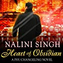 Heart of Obsidian: Psy-Changeling, Book 12 (       UNABRIDGED) by Nalini Singh Narrated by Angela Dawe