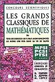 echange, troc Daniel Guinin - Les grands classiques de mathématiques: 1re année : classes préparatoires MPSI-PCSI-PTSI