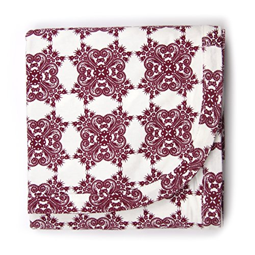 Kate Quinn Organic Unisex-baby Receiving Blanket, Onesize (Bloom)