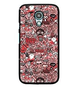 PrintDhaba Graffiti D-3233 Back Case Cover for MEIZU M1 NOTE (Multi-Coloured)