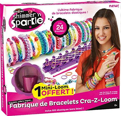 Cra-Z-Art Shimmer 'n Sparkle Cra-Z-Loom Bracelet Maker - 1
