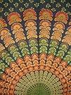 Sanganeer Tapestry-Wall Hang-Peacock…