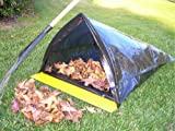 Trash Bag & Leaf Bag Holder with Large Dust Pan for Raking and Sweeping Yard and Garden Collection - BagJaw