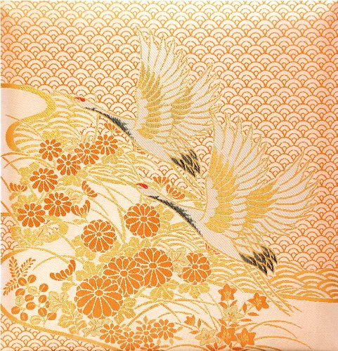 Nakabayashi fuel album wedding for peace crane gold a-LK-572-2