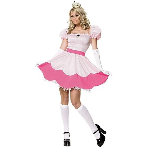 Pink Princess Costume - Medium - Dress Size 8-10