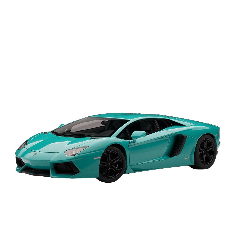 2014 Lamborghini Aventador Lp700 4: Lamborghini Aventador LP700-4 Matt Blue Scale 1/18