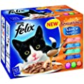 Felix Sensations Sauce Surprise Fish Selection 12 x 100 g (Pack of 4)